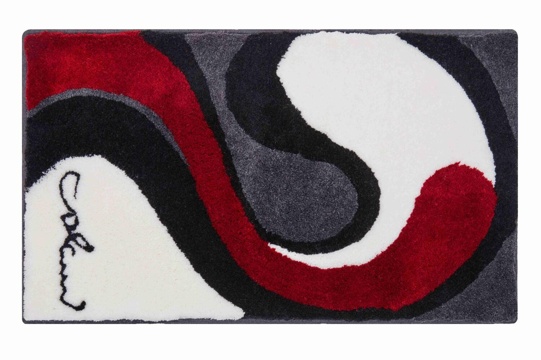 Šedo červená predložka s vysokým vlasom od Luigi Colaniho