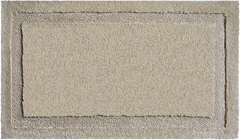 Šedá kúpeľňová predložka Natura z bavlny - GRUND